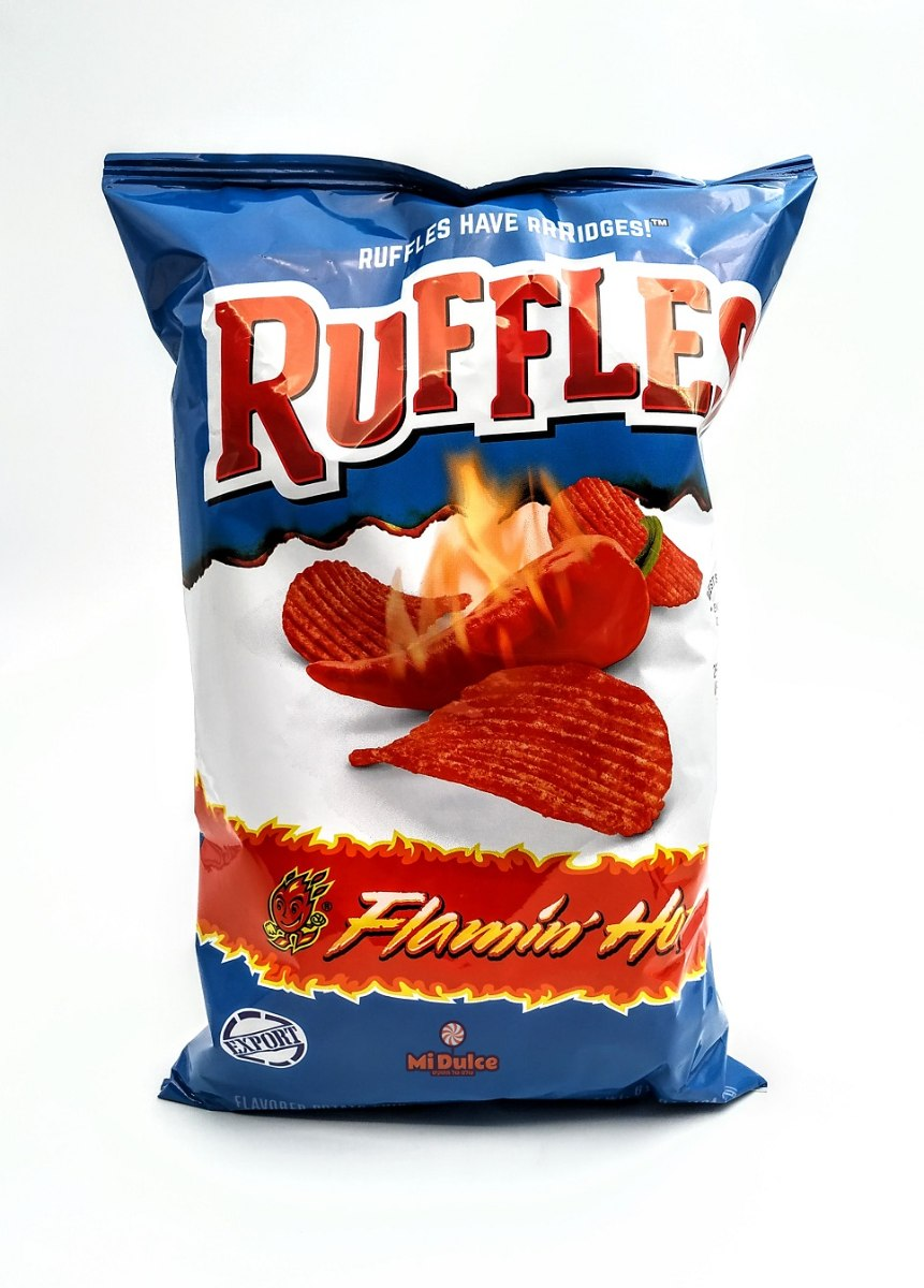 Ruffles  Flamin Hot מארז ענק!