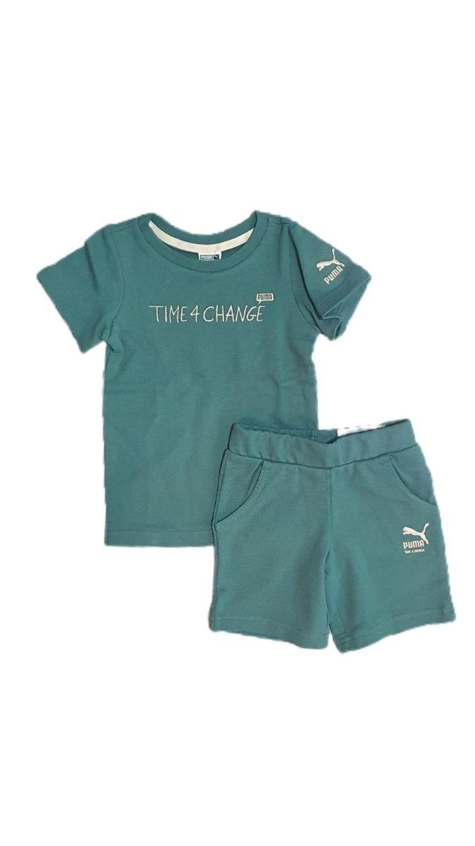 חליפת בנים ירוקה TIME 4 CHANGE