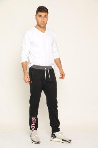 מכנס פוטר גבר עיצוב הדפס רגל