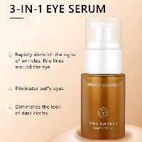 סרום עיניים טיפולי להבהרה ומיצוק העור