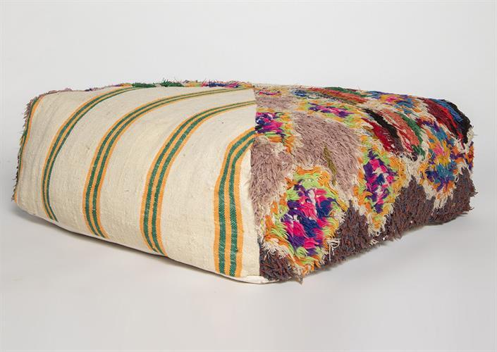 פופ שטיח ברברי צבעוני