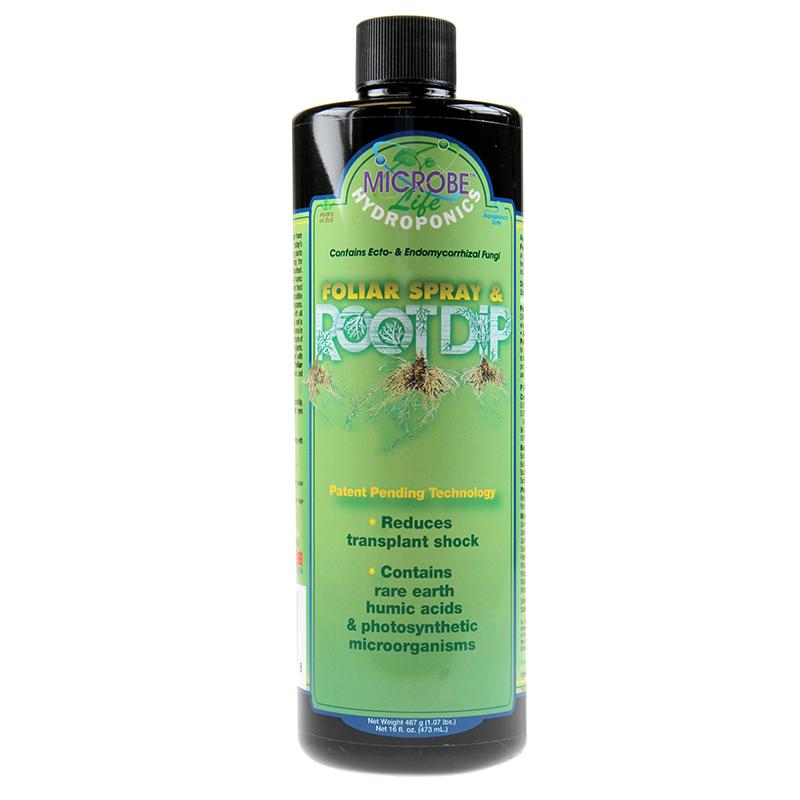 מאיץ שורשים 1 ליטר MicrobeLife Hydroponics Foliar Spray & Root Dip
