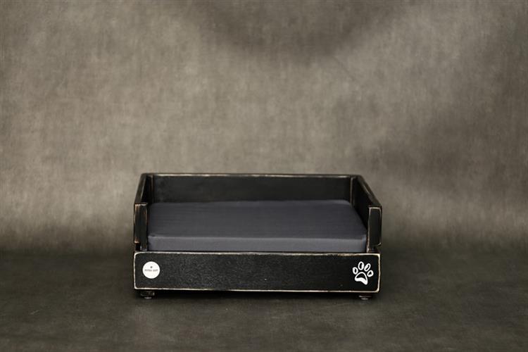 מיטה לכלב- דינגו S שחור ווש