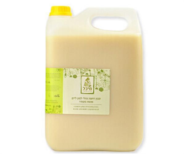 ג'ריקן (5 ליטר) סבון נוזלי - מיכל סבון