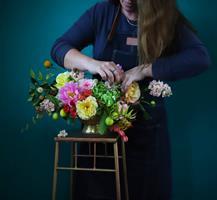 סדנאת שזירת פרחים זוגית