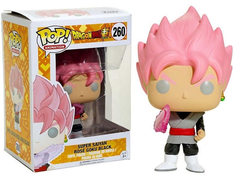 בובת פופ - Goku Super Saiyan Rose God Black