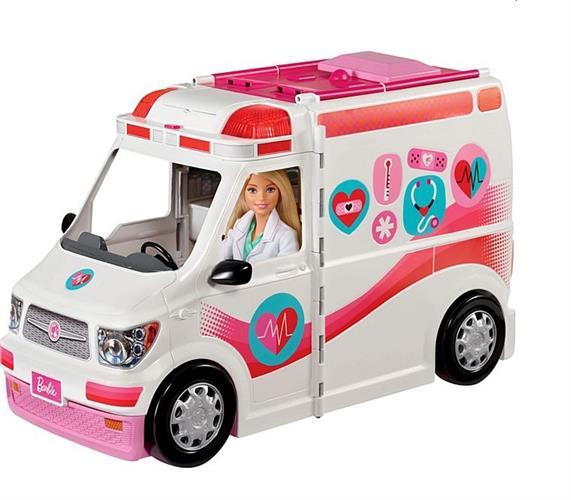 Barbie ברבי אמבולנס מרפאה ניידת
