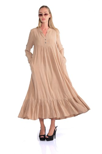 שמלה מלינה כאמל