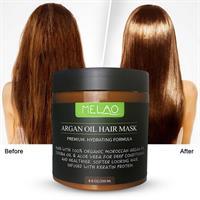 מסכת שמן ארגן להזנה אינטנסיבית ושיקום השיער