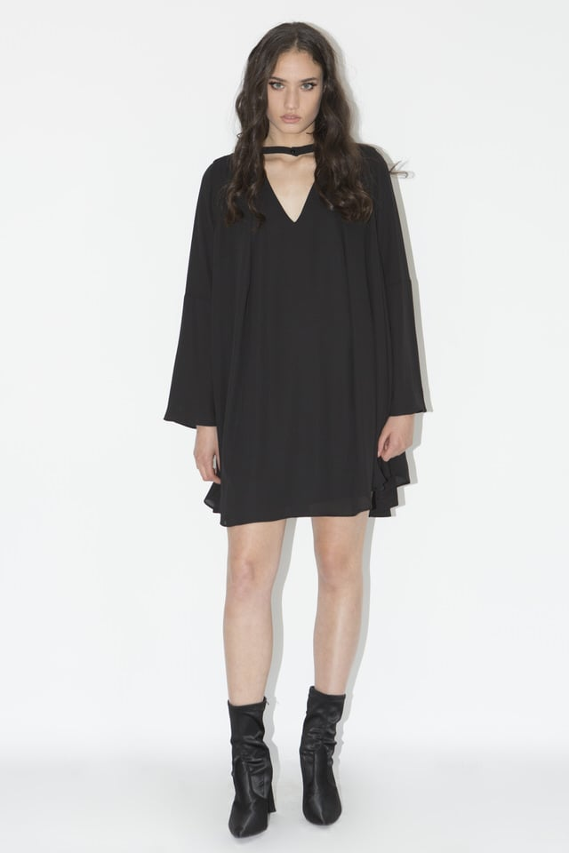 שמלת גסיקה שחורה