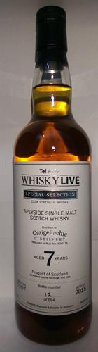 Whisky Live Tel-Aviv Craigellachie 7 y.o