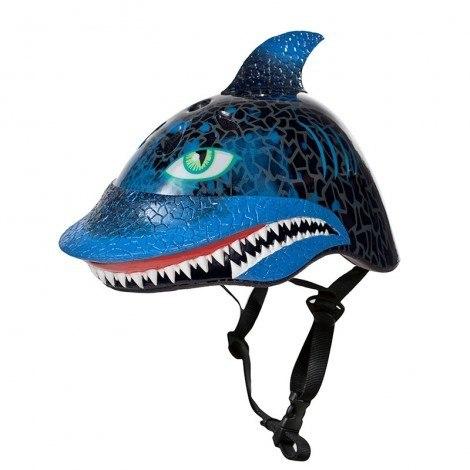 קסדה לילדים כריש שחור Raskullz
