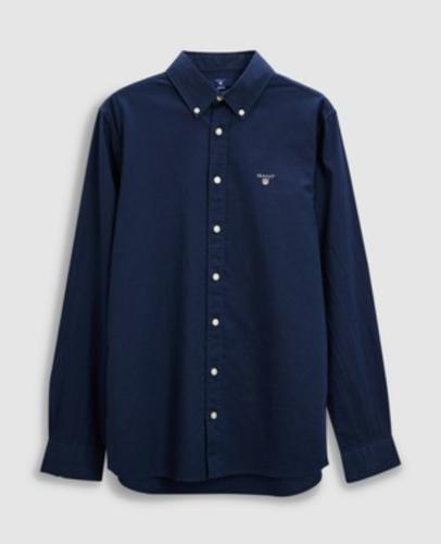 חולצה מכופתרת כחולה GANT - בנים - 7-16 שנים
