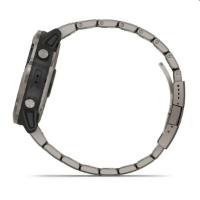 שעון דופק Garmin Quatix 6X Solar Titanium With Titanium Band