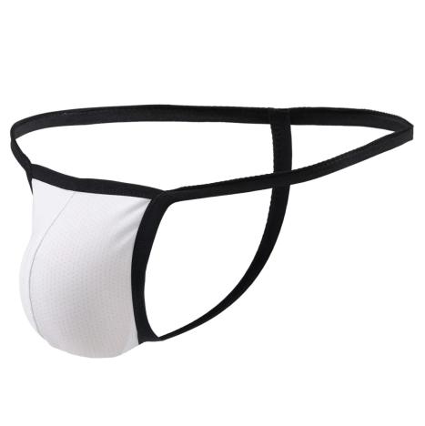 תחתון חוטיני מינימום בד צבע לבן גודל M -L-XL