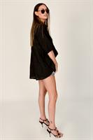 חולצת נטלי שחורה