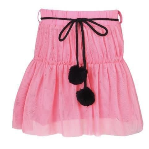 חצאית קומות ורודה VIEW - בנות 2-14