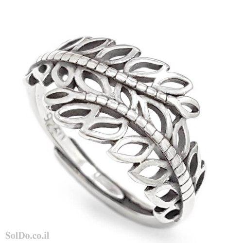 טבעת מכסף מעוצבת  RG6331 | תכשיטי כסף 925 | טבעות כסף