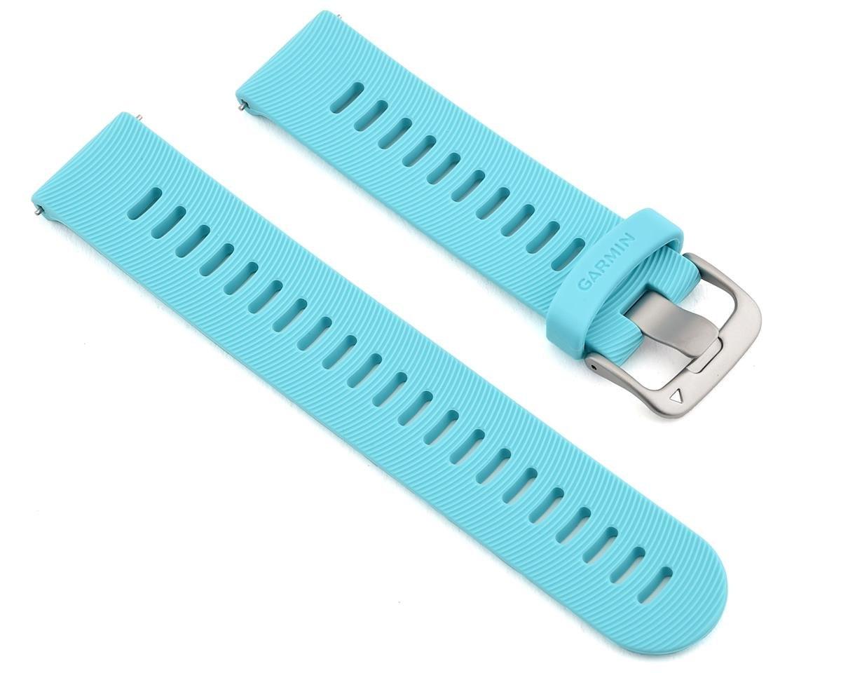 רצועה מקורית לשעון גרמין Garmin Quick Release Bands 20 mm טורכיז