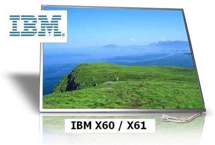 מסך למחשב נייד  IBM Lenovo X60  X61 12.1 XGA Screen