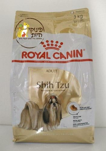 """מזון לכלבים בוגרים מגזע שיצו 3 ק""""ג ROYAL CANIN"""
