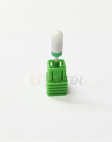 ראש שיוף קרמי חכם קרחת ירוק