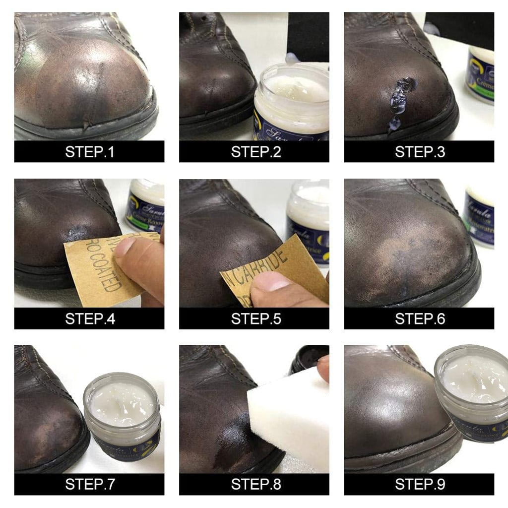 משחה  לניקוי וחידוש מוצרי עור - סופר מולטי  - Multi_function_ointment