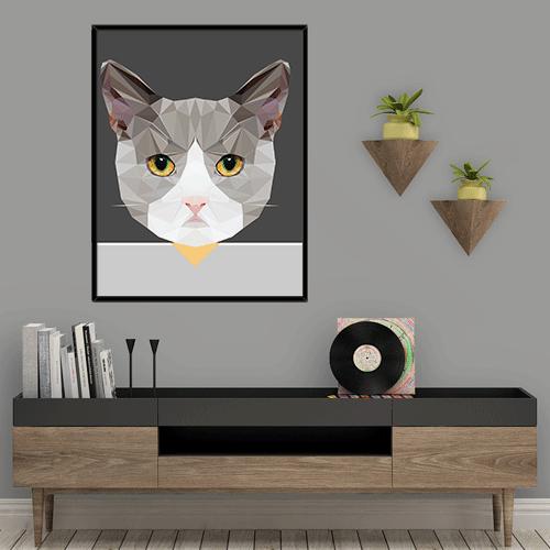 הדפס חתול ג'ימי