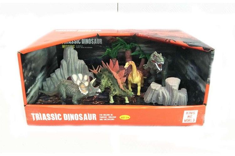 סט דינוזאורים קטן