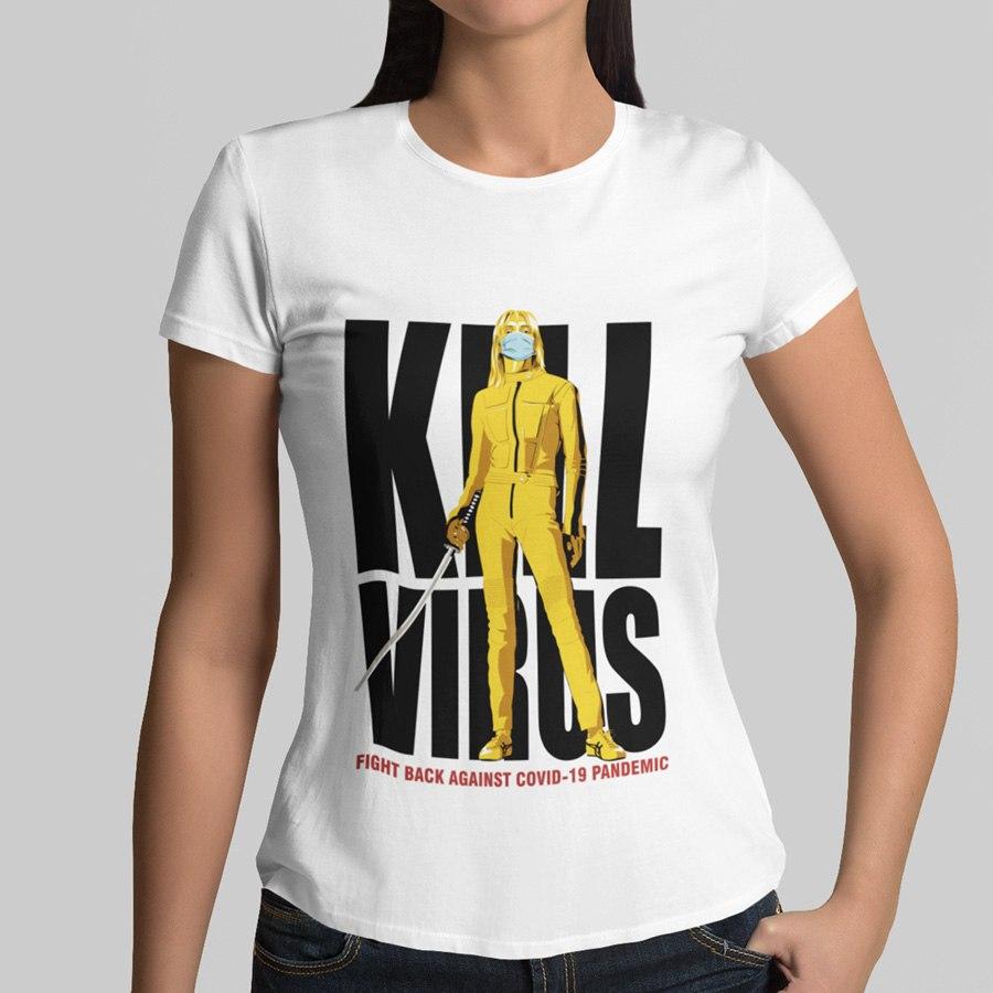 חולצת טי Kill Virus