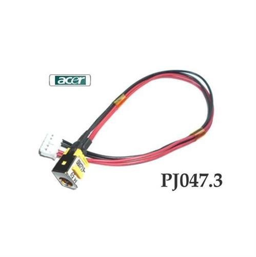 PJ047.3 - 1.65MM Acer Aspire 5335 5735 5735Z שקע טעינה למחשב נייד אייסר
