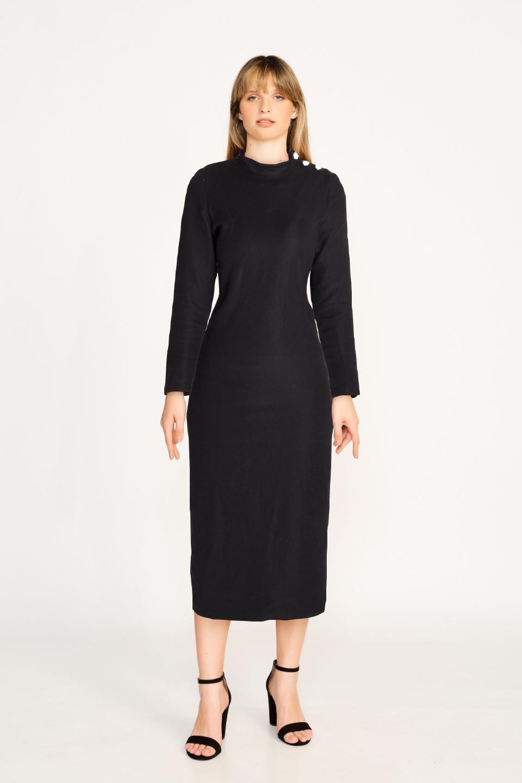 שמלת ריף שחורה