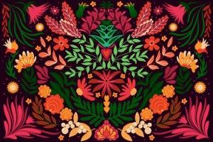 הדפס קנבס -  חגיגה מקסיקנית לילית