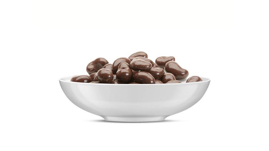 קשיו בציפוי שוקולד חלב 100 גרם