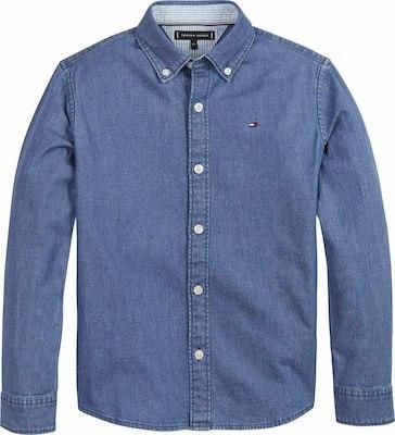 חולצה מכופתרת TOMMY H ג'ינס 1-16