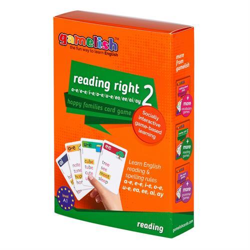 משחק רביעיות באנגלית gamelish | קוראים נכון reading right 2