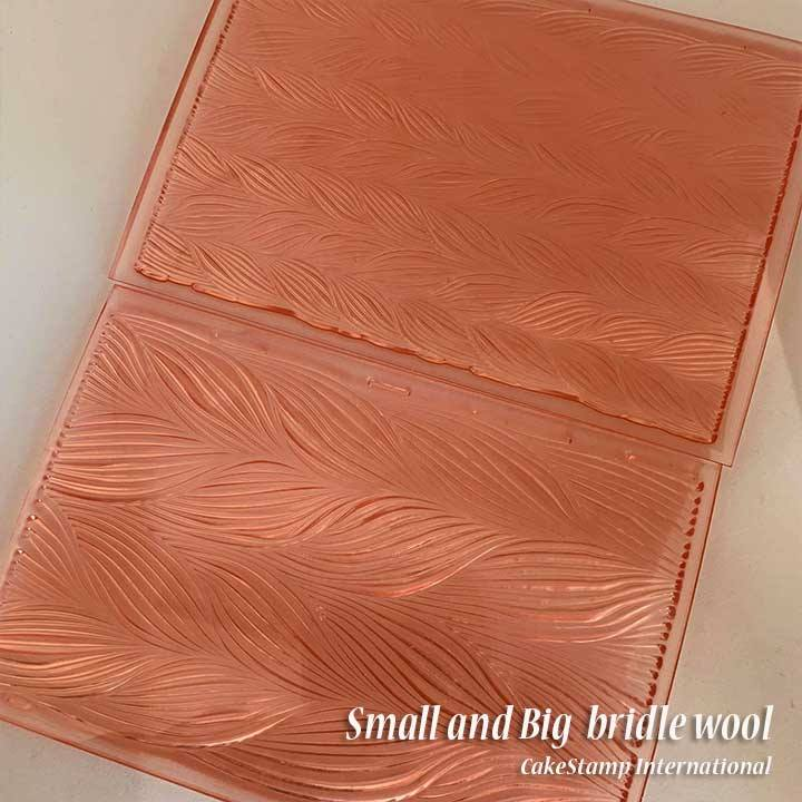 small Bridle wool texture mat