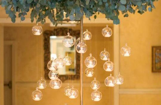 כדור קריסטל מובייל - כדורי זכוכית לתלייה