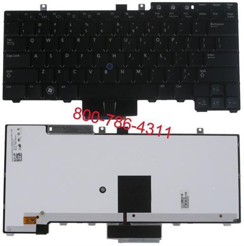 החלפת מקלדת למחשב נייד דל Dell Latitude E5300 / E5400 / E5500 Laptop Keyboard HT514, FM753, NSK-DBA01