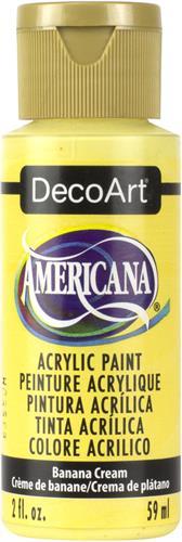 """צבע אמריקנה 59 מ""""ל Banana Cream DA309"""