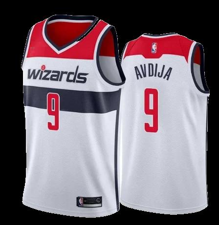 גופיית NBA וושינגטון וויזארדס לבנה - דני אבדיה DENI AVDIJA