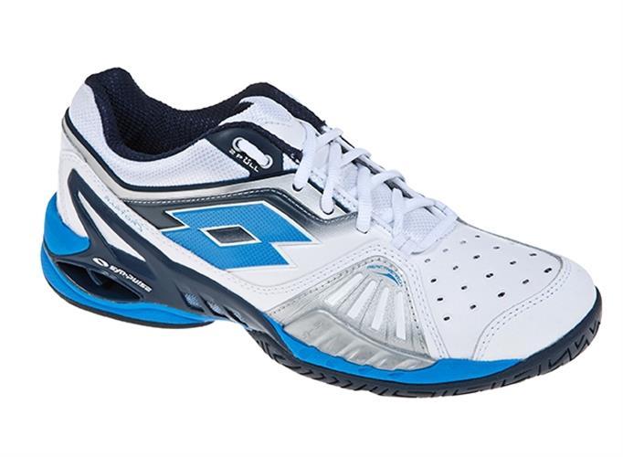 נעלי טניס ילדים Lotto Raptor Jr לבן/כחול