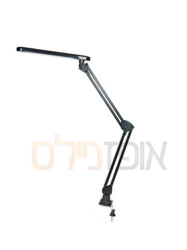 מנורת שולחן LED שחור