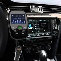משדר fm מקצועי לרכב דגם A7+ הכולל: נגן לרכב+2 כניסות usb+בלוטוס+aux