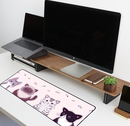 משטח גיימינג לעכבר ומקלדת   משטחי עכבר   משטח לעכבר מחשב