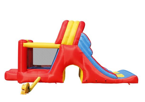 מתקן קפיצה מגה מגלשה הפי הופ - 9082 - Mega Slide Combo Bpuncer Happy Hop