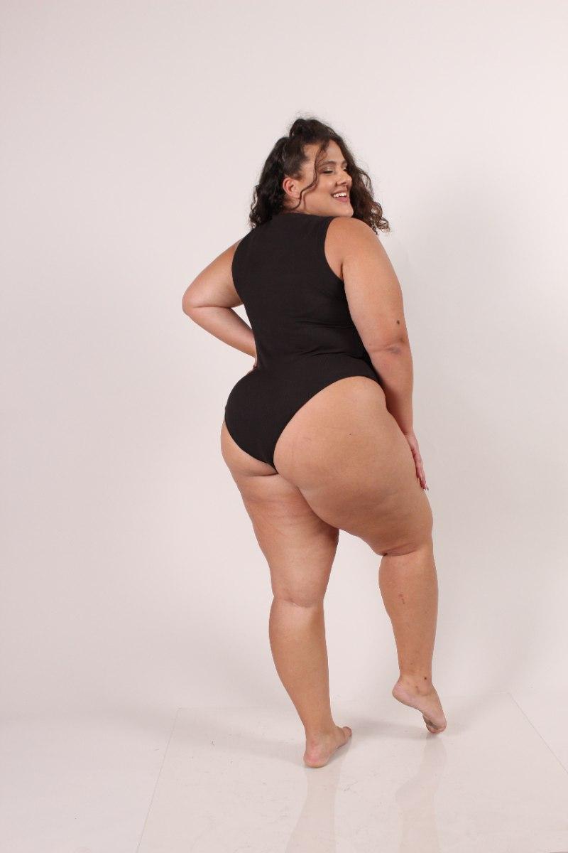 Bodysuit מרני שחור
