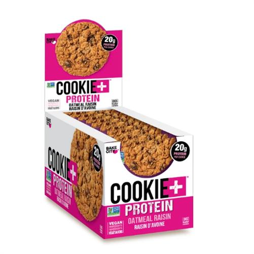 Cookie+ Protein|עוגית חלבון טבוענית כשרה מארז 12 יח