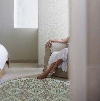 שטיח פי.וי.סי עגול ויקטוריה TIVA DESIGN קיים בגדלים שונים