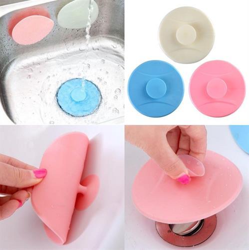 פקק סיליקון אוניברסלי - מתאים לכל סוגי הכיורים והאמבטיות